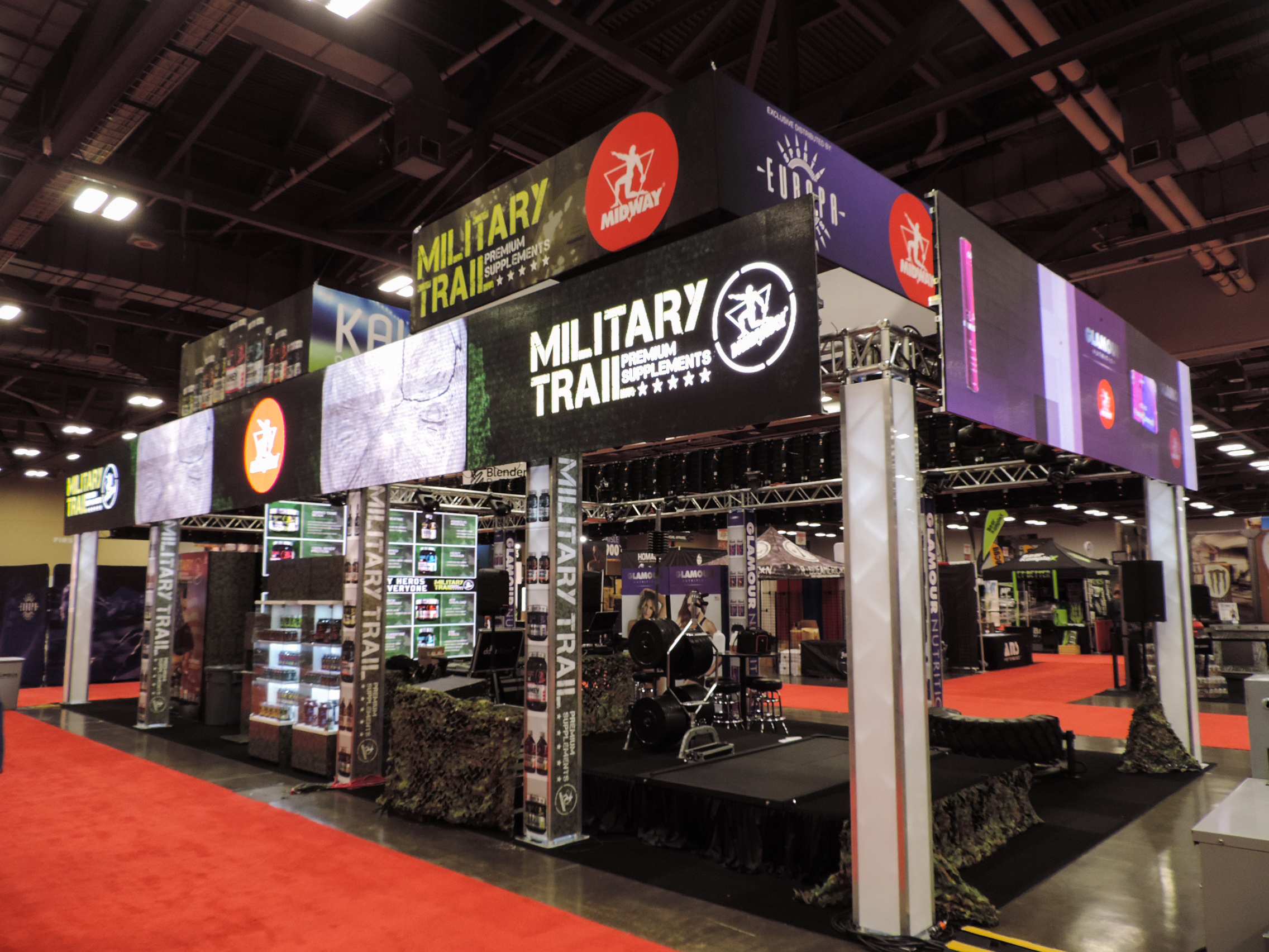 Military Trail Booth.
