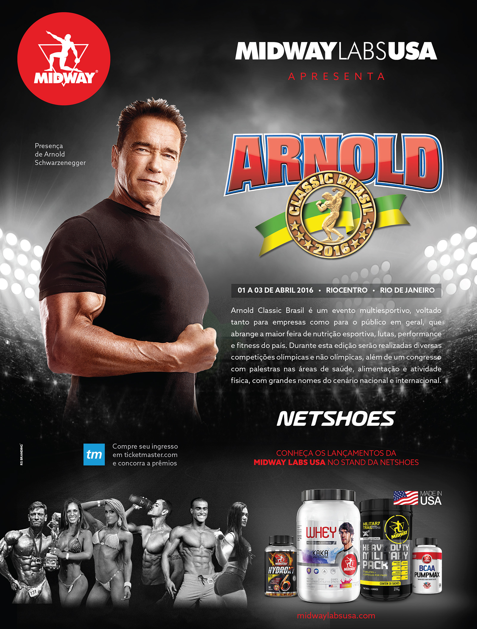 Midway Labs USA Arnold Classic