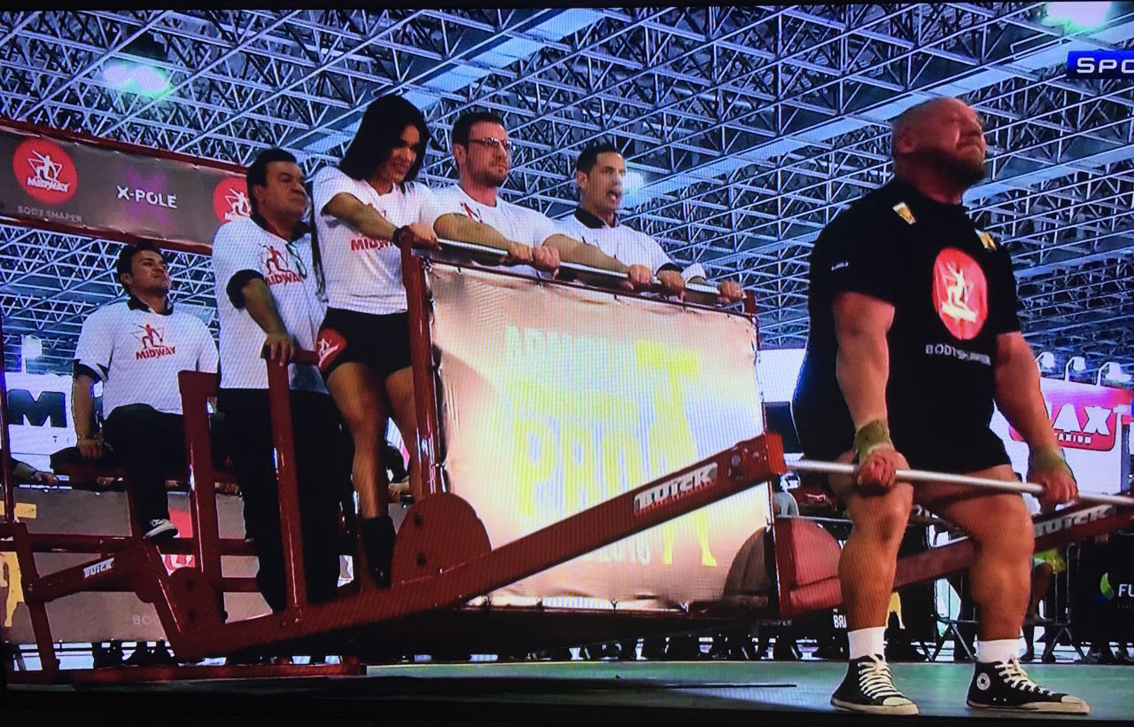 Strongman Pro Arnold Classic, Midwaylabs