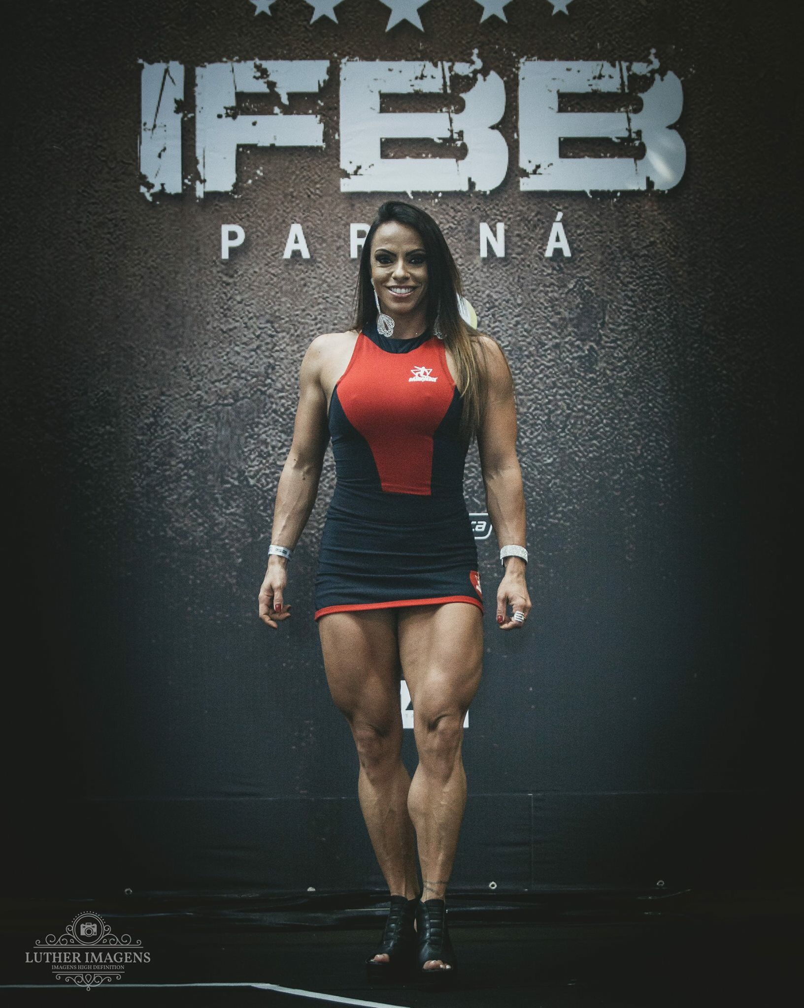 Dani Tayla at the IFBB Paraná