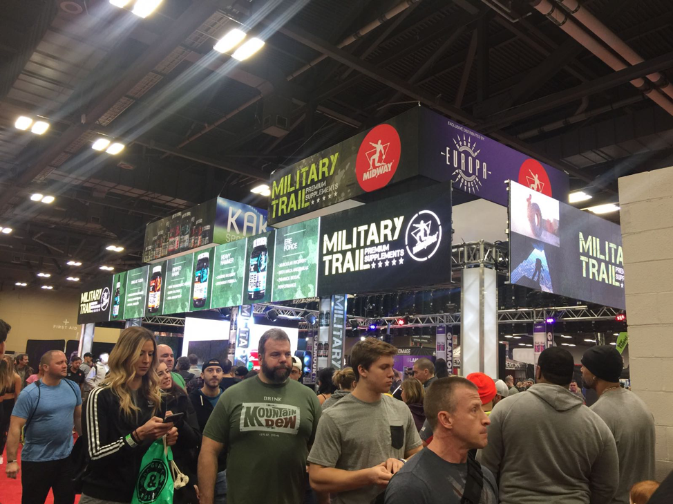 Midway Labs USA booth