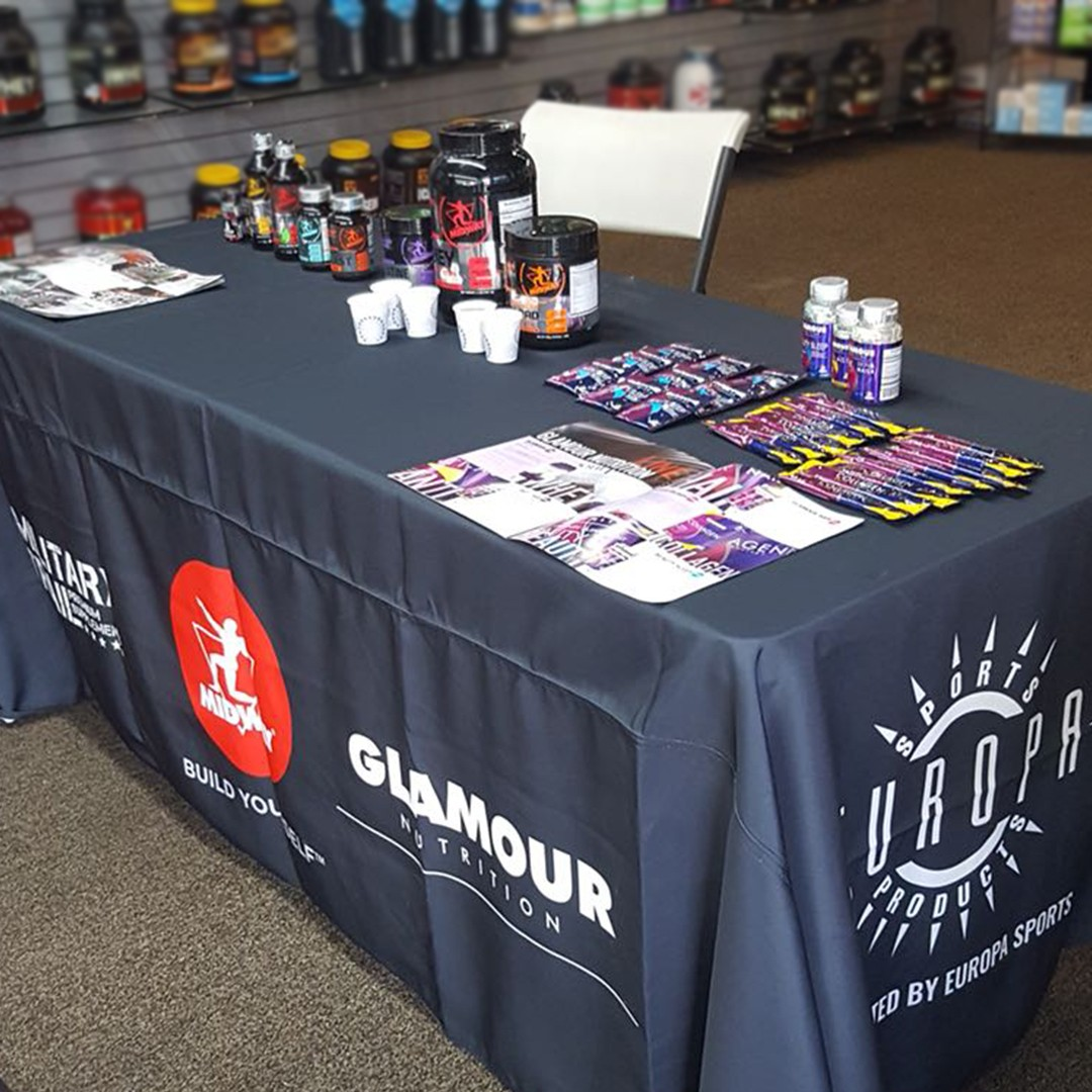 Boulevard Fitness San Diego Glamour Nutrition Midway Labs USA