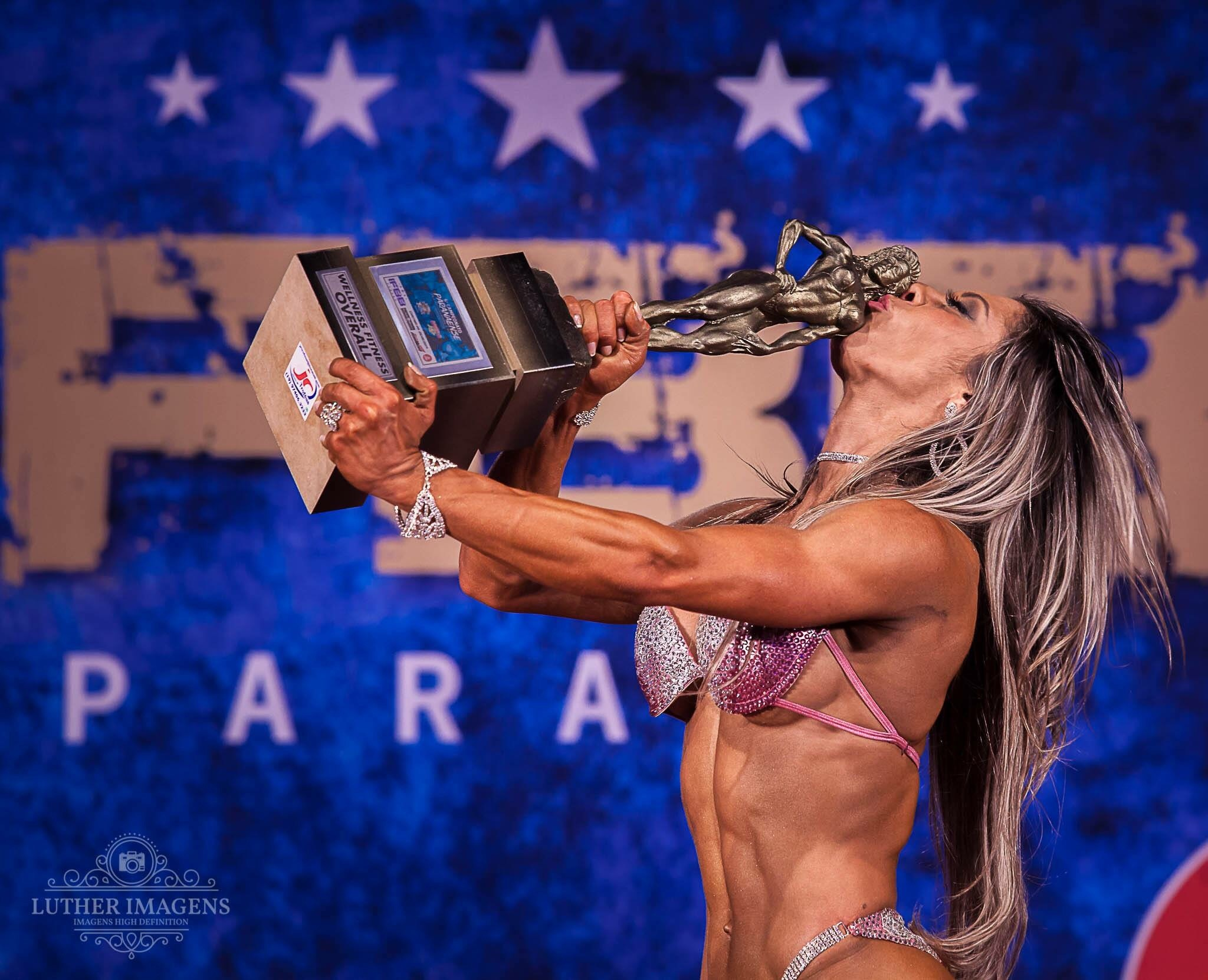 Overall Bikini Winner at IFBB Paraná