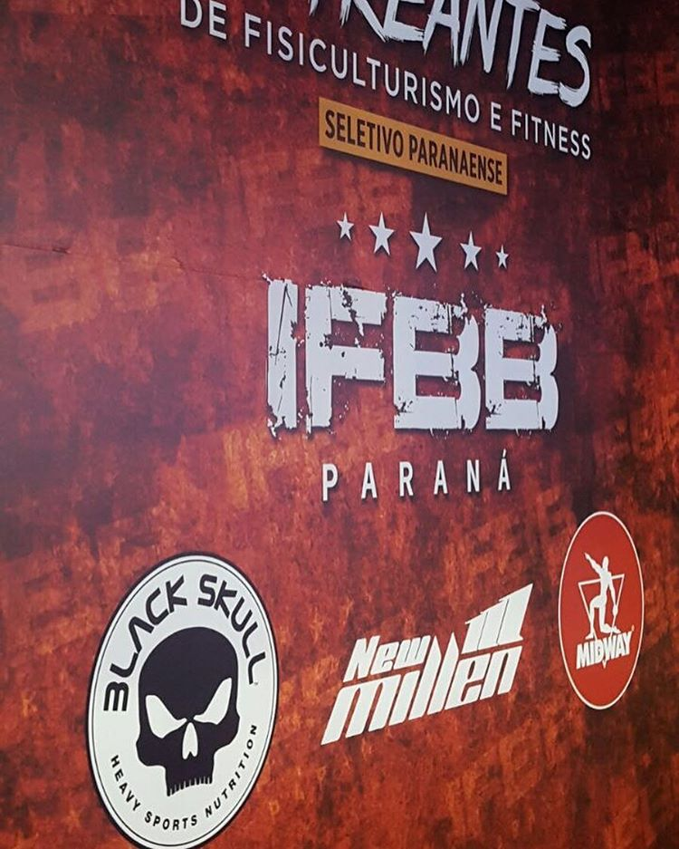 Midway Labs Sponsors IFBB Paraná
