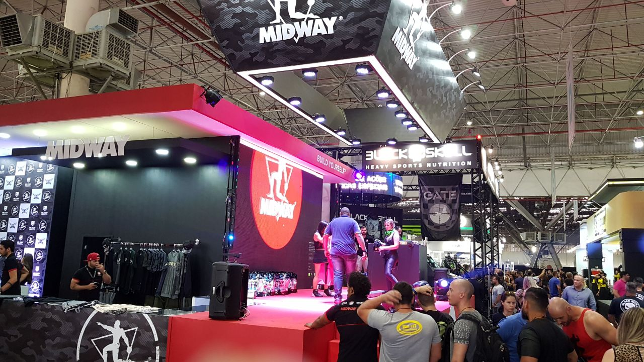 Midway Labs at The Brazil  Fitness Training Event 2017