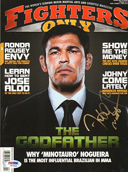 Rodrigo Nogueira Minotauro Fighters Only Magazine