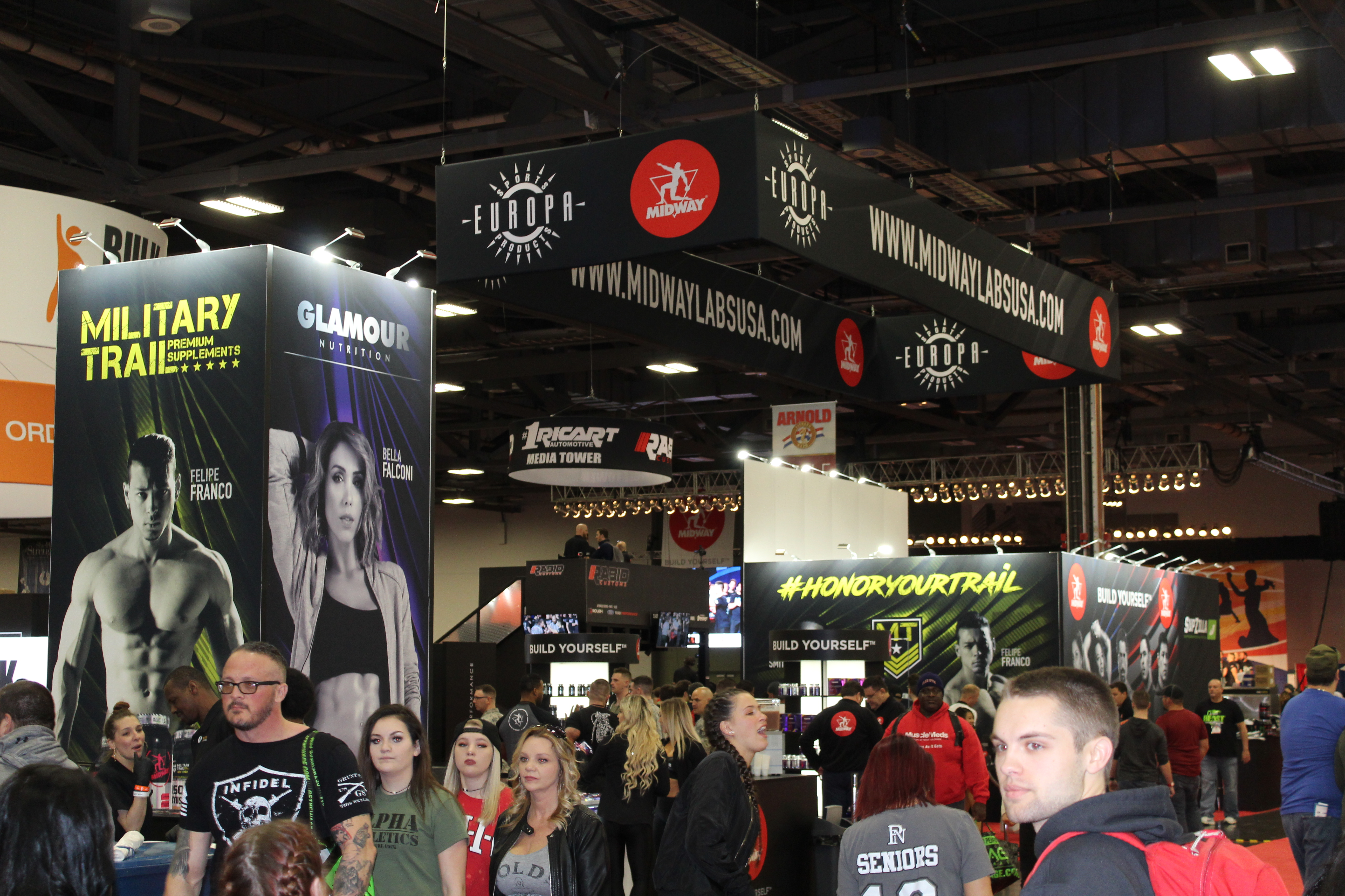 Kicking off the Arnold Sports Expo 2018 with Midway Labs USA