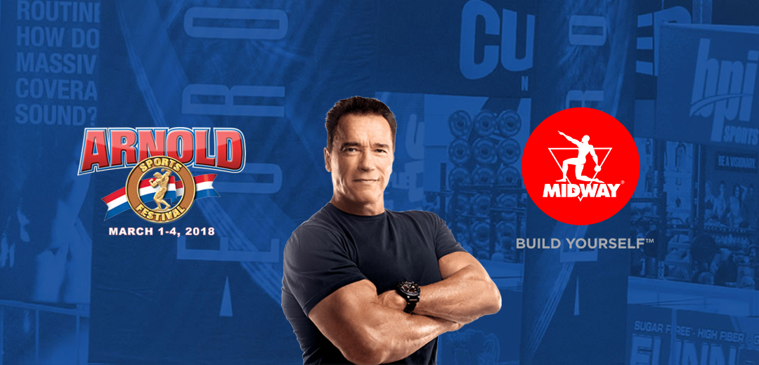 Midway Labs USA is the Main Sponsor of the 2018 Arnold Sport Festival