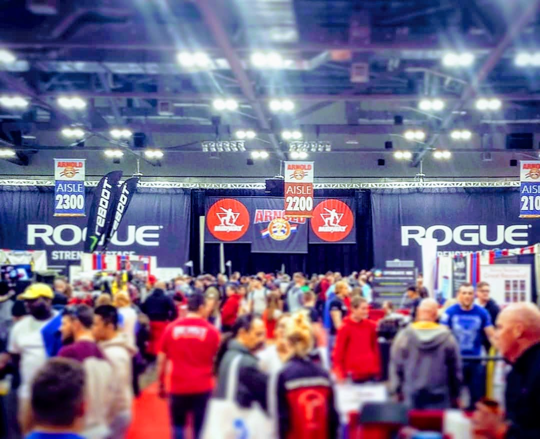 Day 2 with Midway Labs USA at the 2018 Arnold Sport Festival