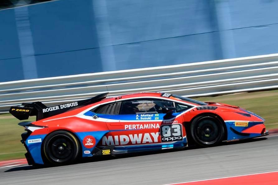 Midway Labs takes on Lamborghini Super Trofeo