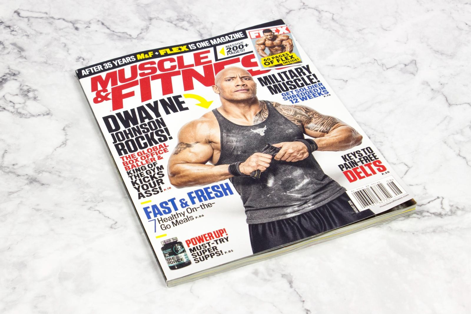 Military Trail Featured on Cover of Muscle & Fitness