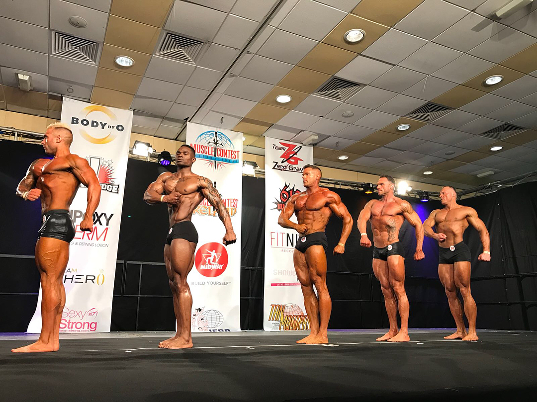 Muscle Contest Ireland 2018